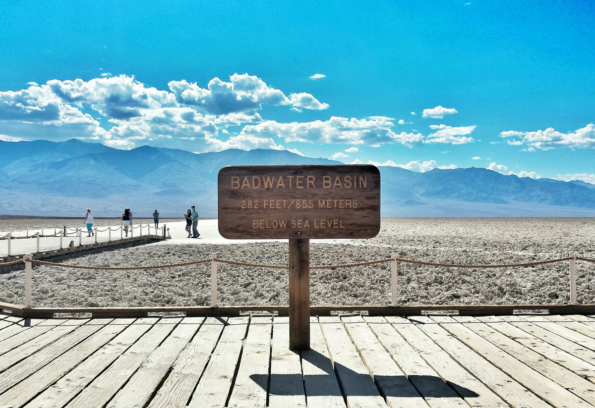 Badwater Basin and Devils Golf Course
