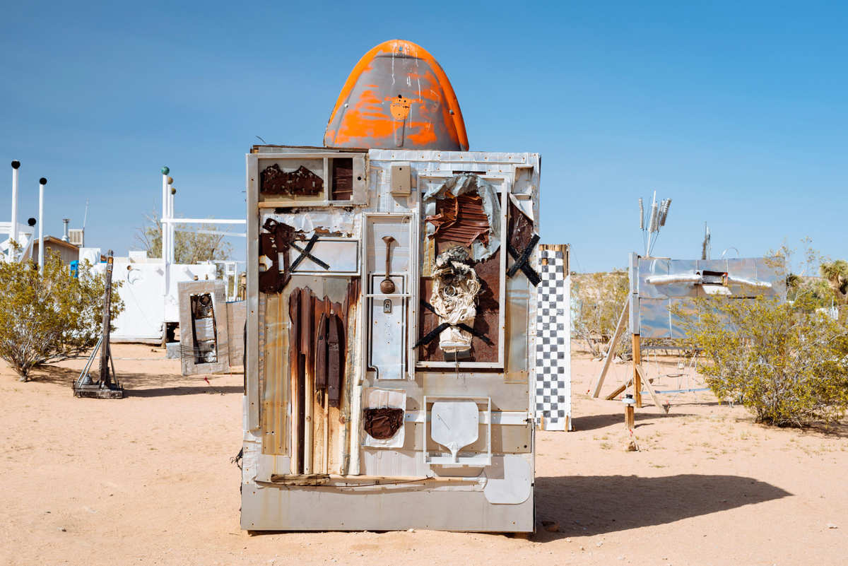 Noah Purifoy Desert Art Museum of Assemblage Art