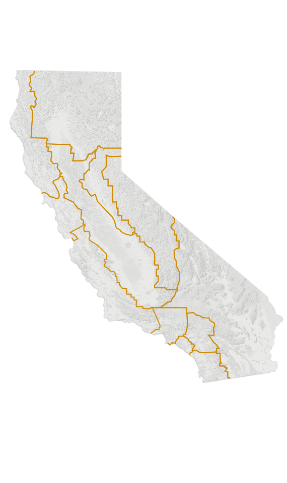 Visit California - Map of the western us states