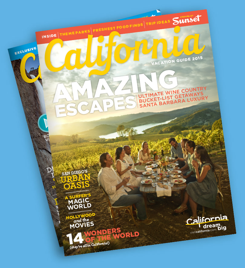 California Official State Visitor S Guide Amp Map Visit