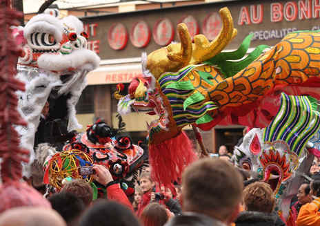 Golden Dragon Parade