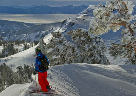 Sci e snowboard in California