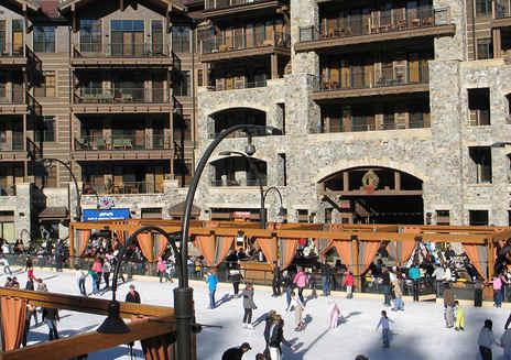 滑雪后休闲胜地