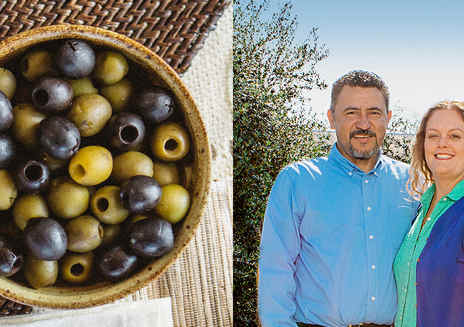 Obsession, Optimism and Olives. This is how California Grows.