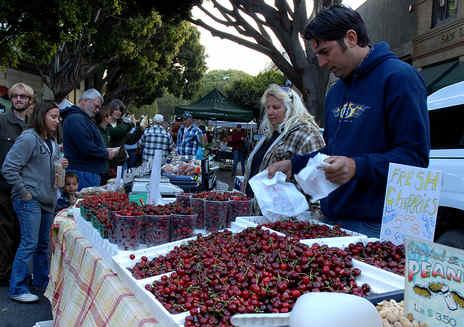 Mercado agrícola de San Luis Obispo
