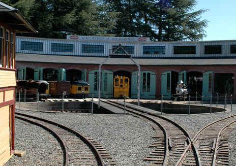 소노마 트레인타운 열차