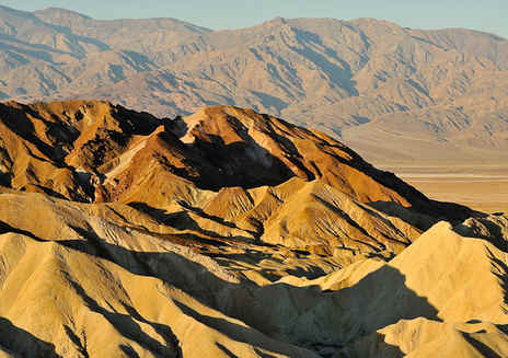 Golden Canyon & Zabriskie Point
