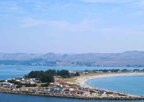 도란 해변공원 해안 캠핑
