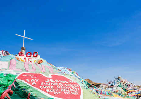 Salvation Mountain & Slab City