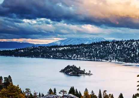 Destaque: Lake Tahoe