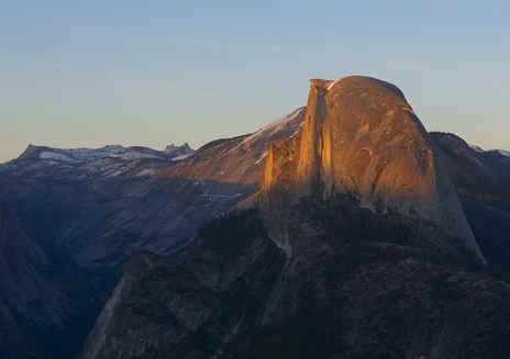 Glacier Point en Yosemite
