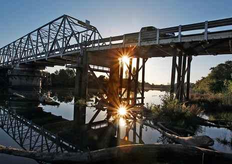 Visite du delta de Sacramento