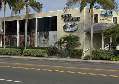 Hansen Surfboards in Encinitas