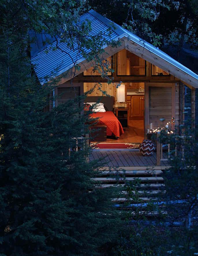 9 increíbles destinos para acampar con glamour