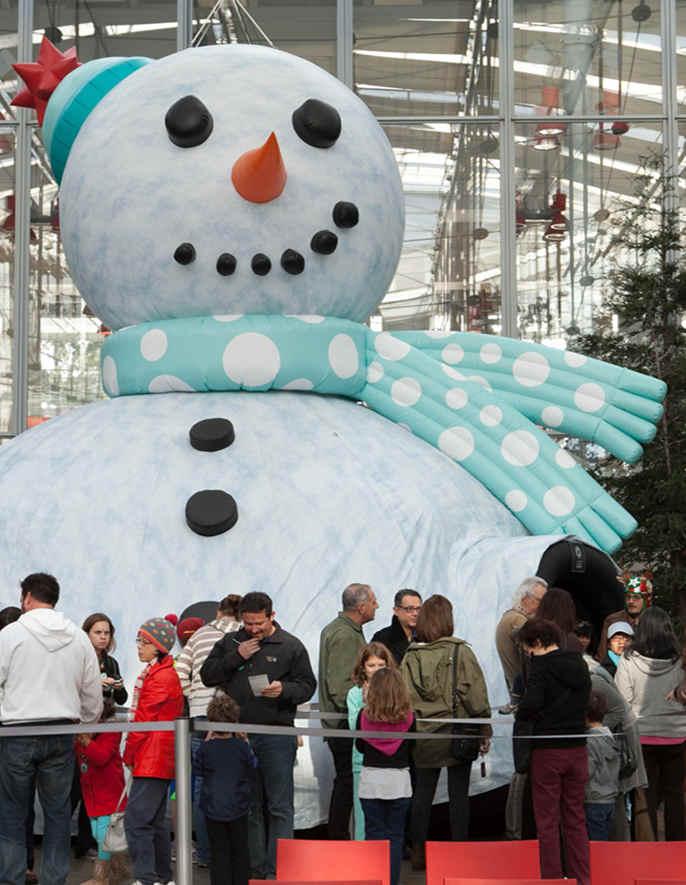 Feiertagsveranstaltungen in Freizeitparks und anderen Attraktionen
