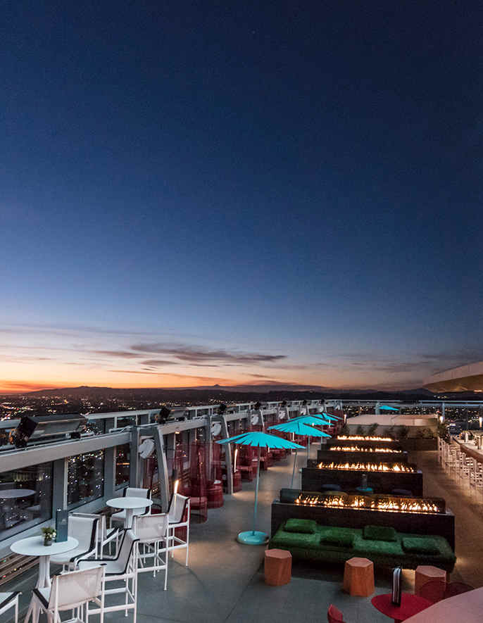 California's Incredible Rooftop Retreats