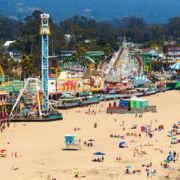 산타크루즈 비치 보드워크 (Santa Cruz Beach Boardwalk)