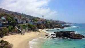 캘리포니아의 놀라운 해안 보존 구역 Agate Street Beach