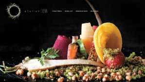 Chefs célebres da Califórnia Atelier Crenn › Poetic Culinaria