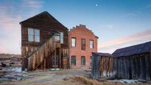 Winter in Mammoth Lakes Bodie SHP
