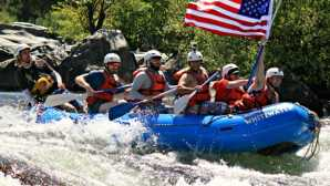 Bold Whitewater Rafting in the B