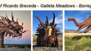 Ricardo Breceda Sculptures Borrego Springs Skyart Sculpture