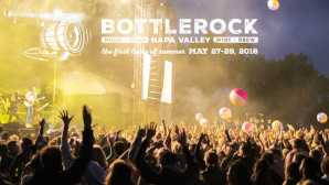 ナパのダウンタウン BottleRock Napa Valley BottleRoc
