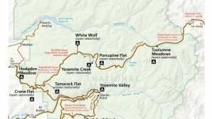 Focus: Yosemite National Park  Campgrounds - Yosemite National