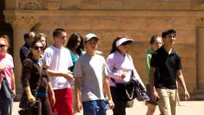 硅谷酒乡之旅 Campus Walking Tour : Stanford U