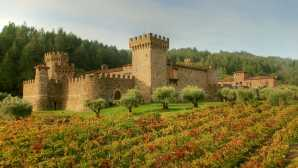 Central Napa Tasting Rooms Castello di Amorosa - Press