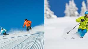 Skifahren und Snowboarden in Kalifornien Children's Ski and Snowboard Les_0