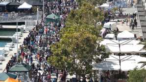 Jack London Square Eat Real Fest