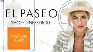 购物胜地 El Paseo Shopping in Palm Desert