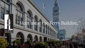 San Francisco Nightlife  Ferry Building Marketplace
