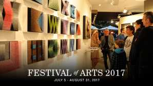Concorso di quadri viventi a Laguna Beach Festival of Arts Pageant of the