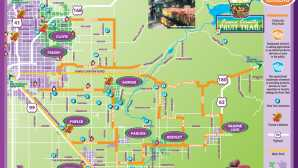 Farmers' Market em Davis Fruit Trail Viewable Map - Fresn