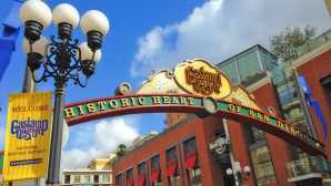 Mission Bay und San Diego Bay Gaslamp Quarter | San Diego, Cal