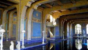 The castle Hearst Castle Pools | Neptune Po
