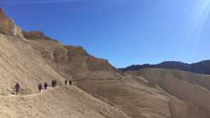 Ubehebe Crater Hiking - Death Valley National P