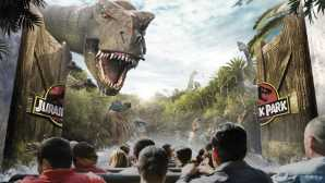 Springfield Jurassic Park® — The Ride | Univ