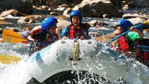 컨 강과 카웨아 강 하류 Kern River Rafting | Southern Ca