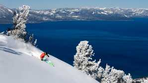 킹스 해변 Lake Tahoe Ski Resorts