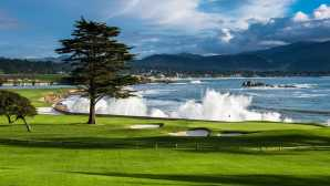 Golfe em Monterey e Carmel Legendary Golf Courses at Pebble