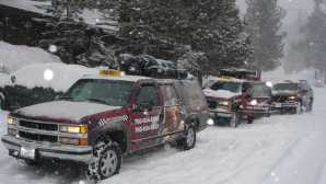 Winter in Mammoth Lakes Mammoth Taxi Airport Shuttle Mam