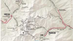 High Peaks Area Maps - Pinnacles National Park (
