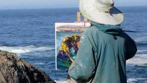 Playas y senderismo Mendocino Open Paint Out - A Ple_0