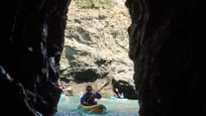 캘리포니아의 놀라운 해안 보존 구역 Mendocino ocean kayak tours: Kay