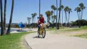 Restaurants au bord de l'eau à San Diego Mission BAy Beach Cruiser