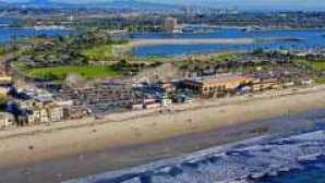 San Diego Nightlife Mission Beach Aerial 645x340