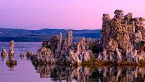 Winter in Mammoth Lakes Mono Lake Tufa SNR